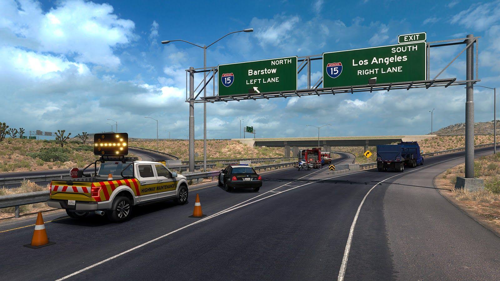 American Truck Simulator: обновление 1.33 (Открытый бета-тест)
