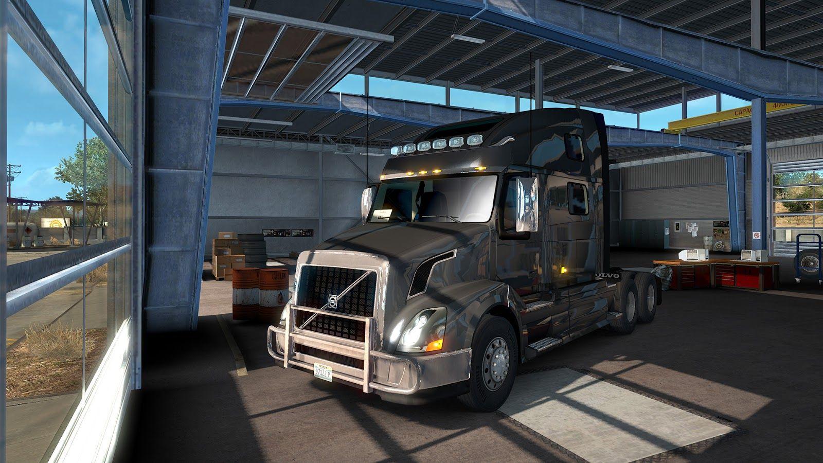Встречайте Volvo VNL в игре American Truck Simulator