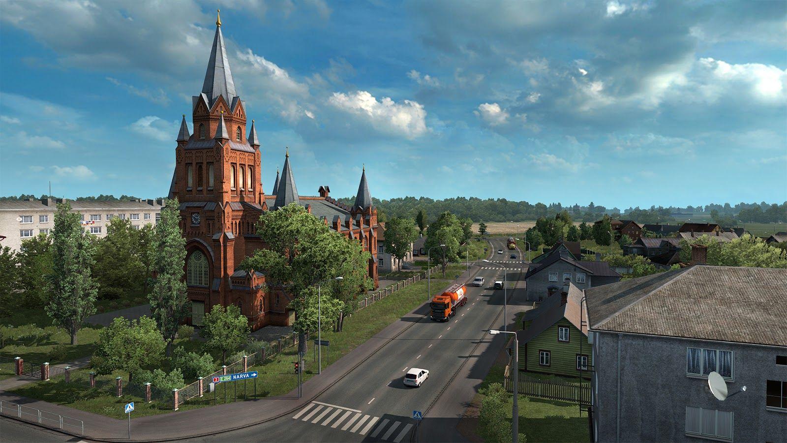 Вышло обновление Euro Truck Simulator 2 1.33