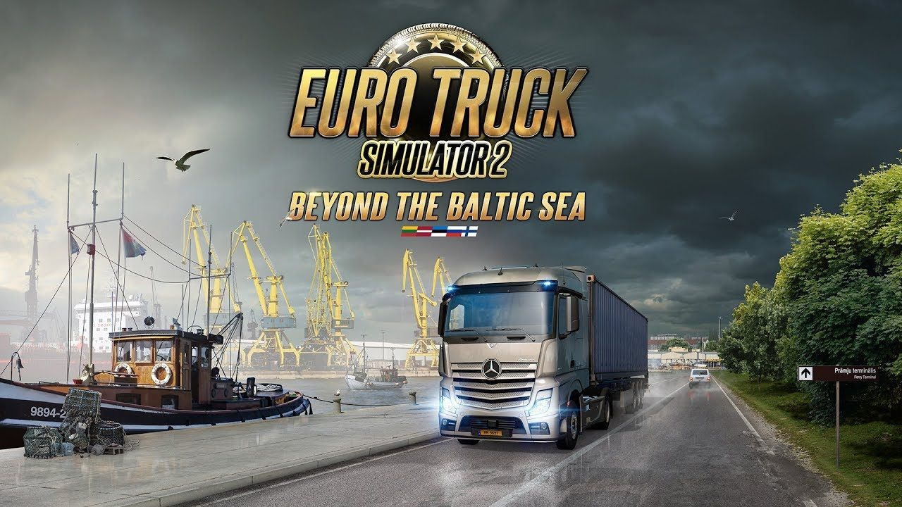 Объявлена дата выхода дополнения Euro Truck Simulator 2: Beyond the Baltic Sea