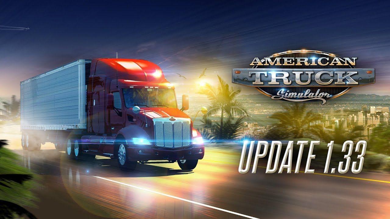 Для American Truck Simulator вышло обновление 1.33