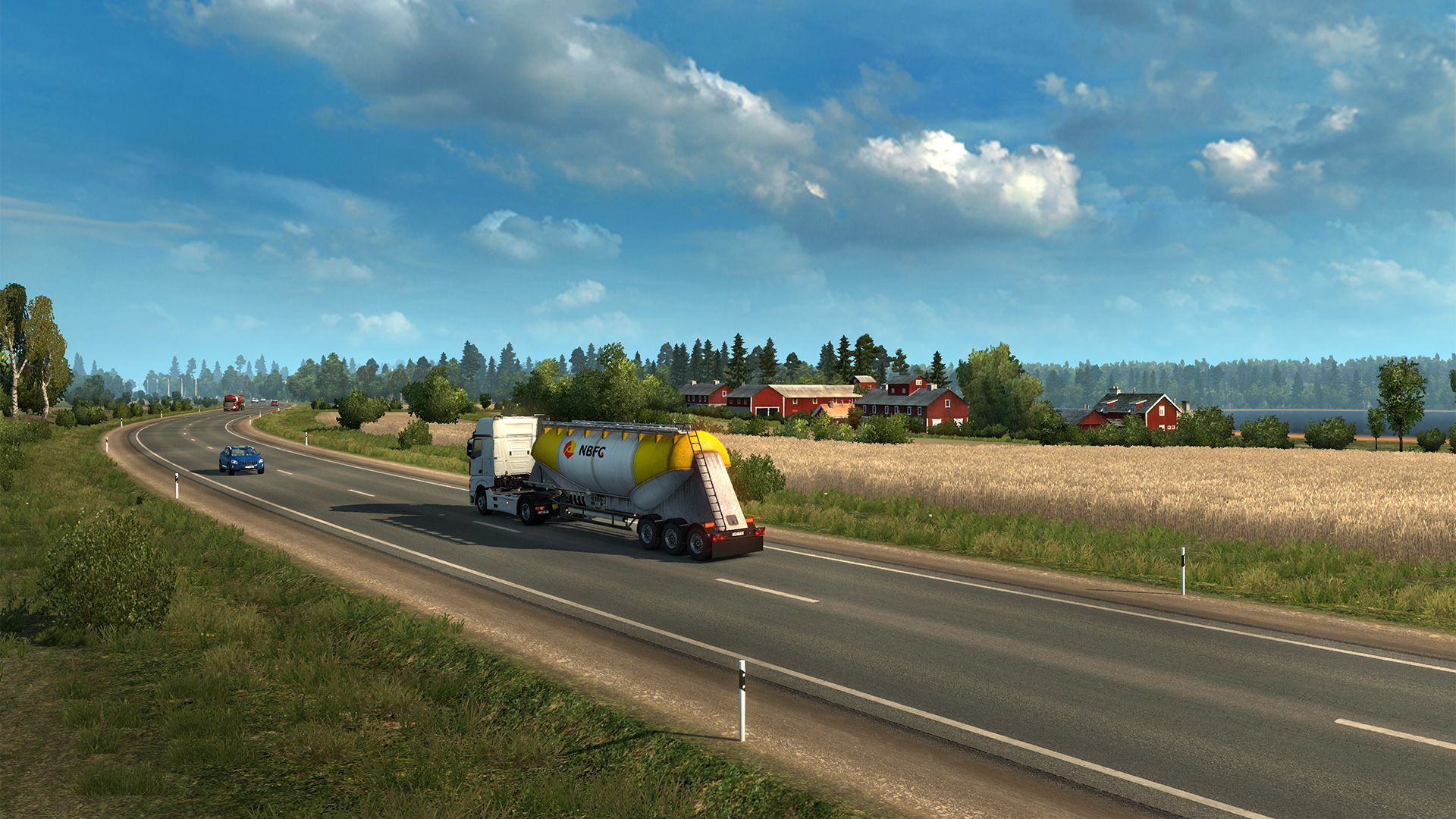 Наш взгляд на дополнение Euro Truck Simulator 2: Beyond the Baltic Sea [Обзор]