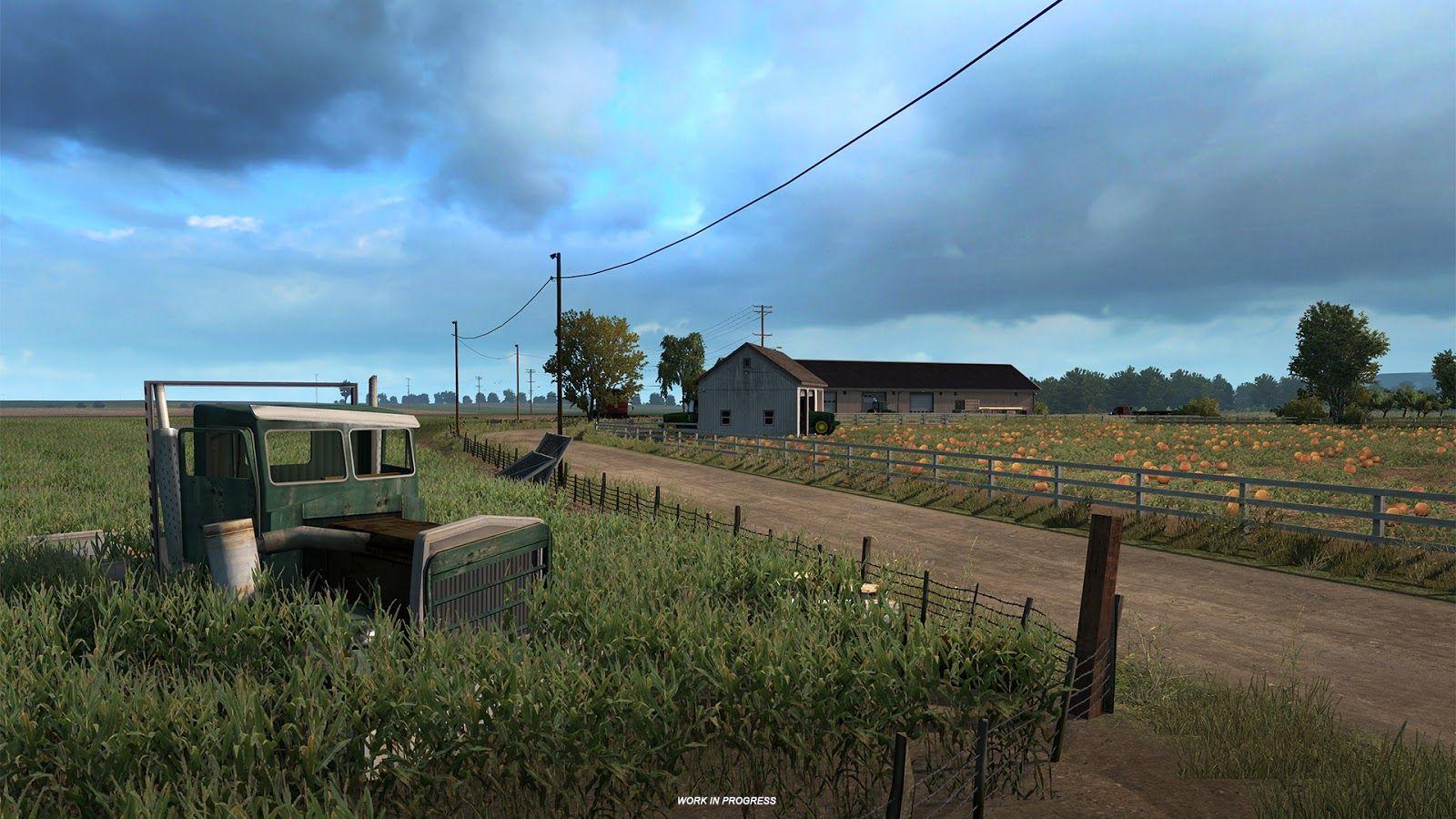 Первая информация о будущем дополнении с расширением карты American Truck Simulator