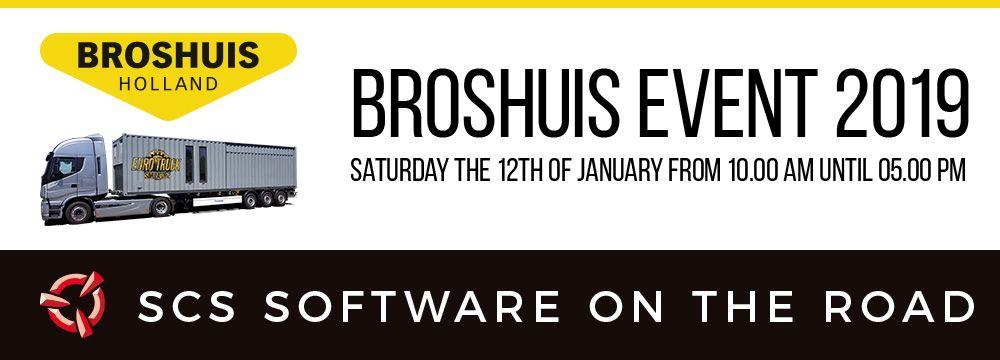 SCS Software посетят мероприятие Broshuis 2019