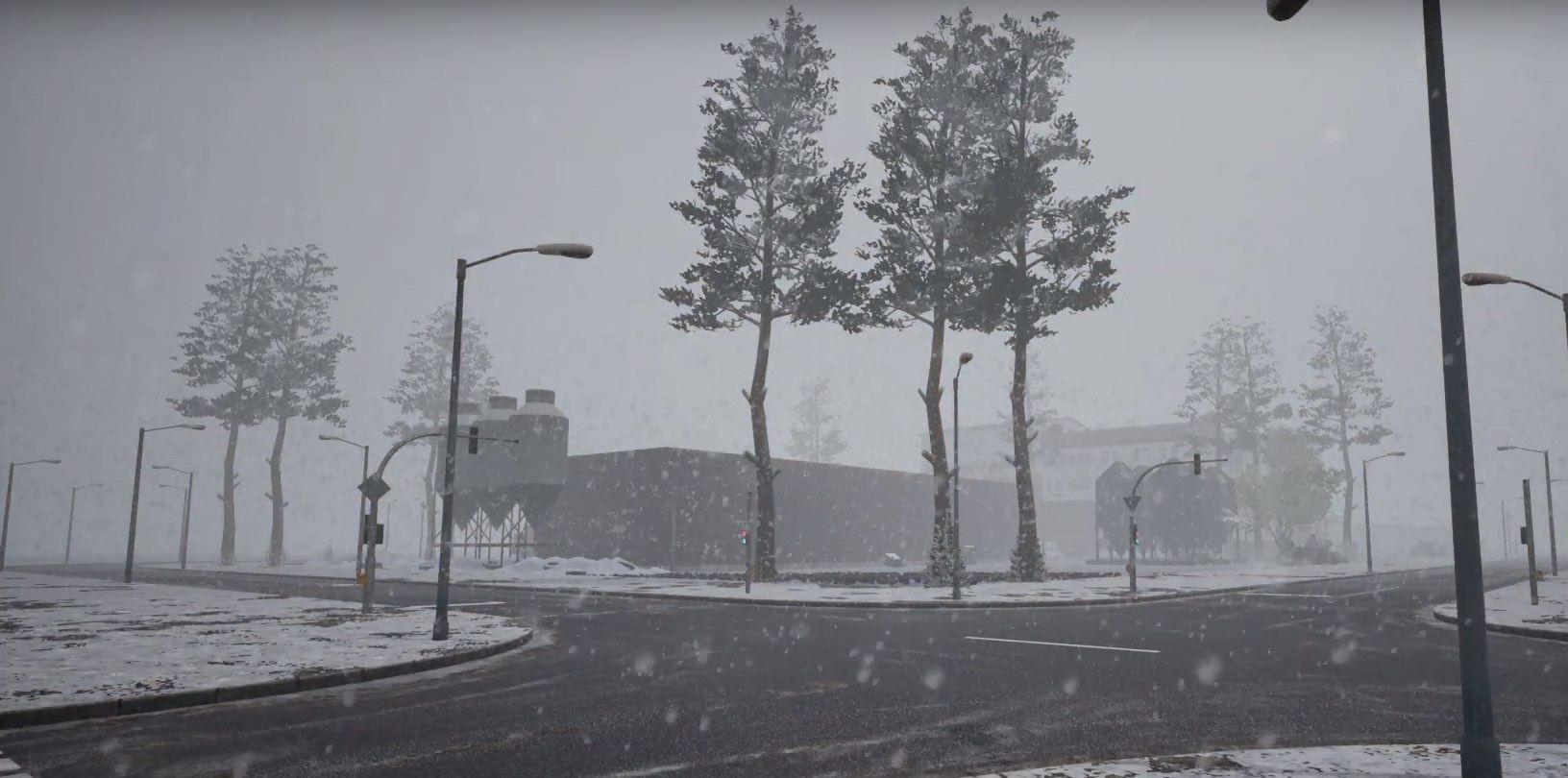 Новые погодные эффекты в Fernbus Simulator и The BUS