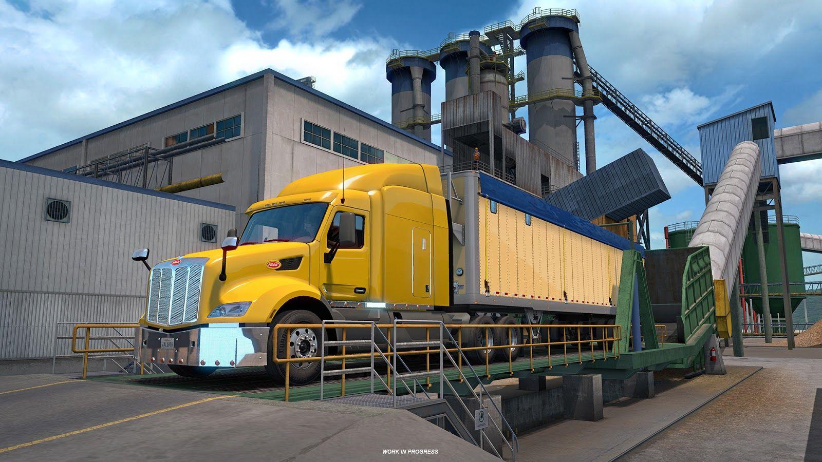 American Truck Simulator:  новые полуприцепы и грузы [Часть 1]