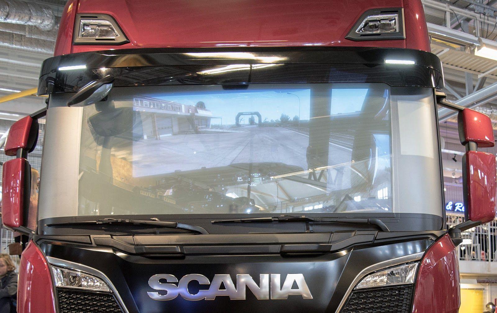 Кооперация SCS Software и Scania
