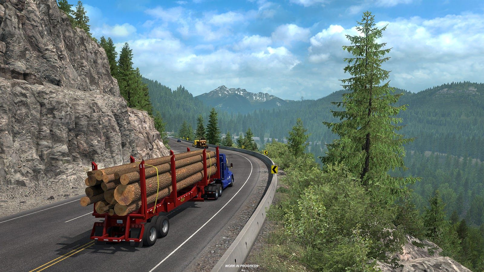 American Truck Simulator: Washington – пейзажи штата