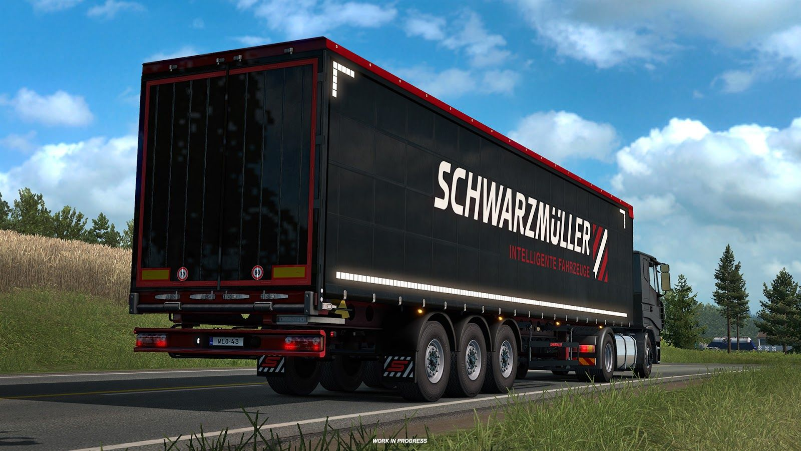 Euro Truck Simulator 2: новые полуприцепы и грузы [Часть 2]