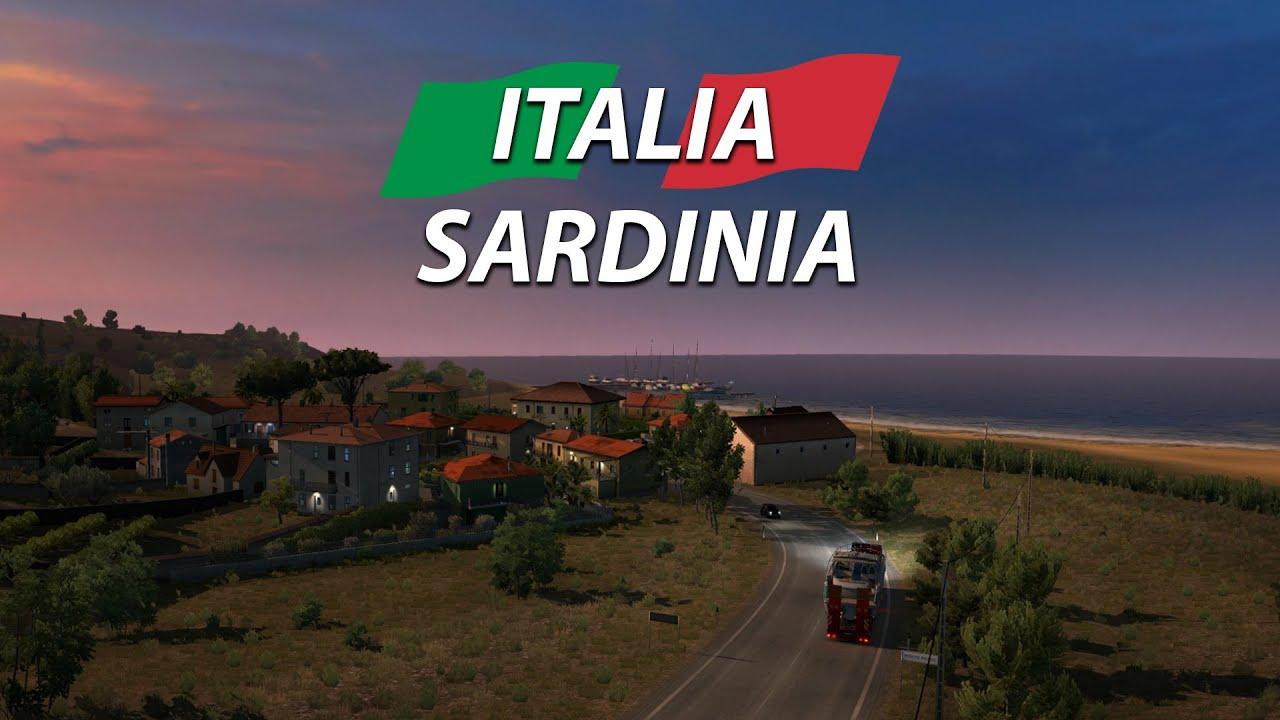 В Euro Truck Simulator 2 добавят Сардинию