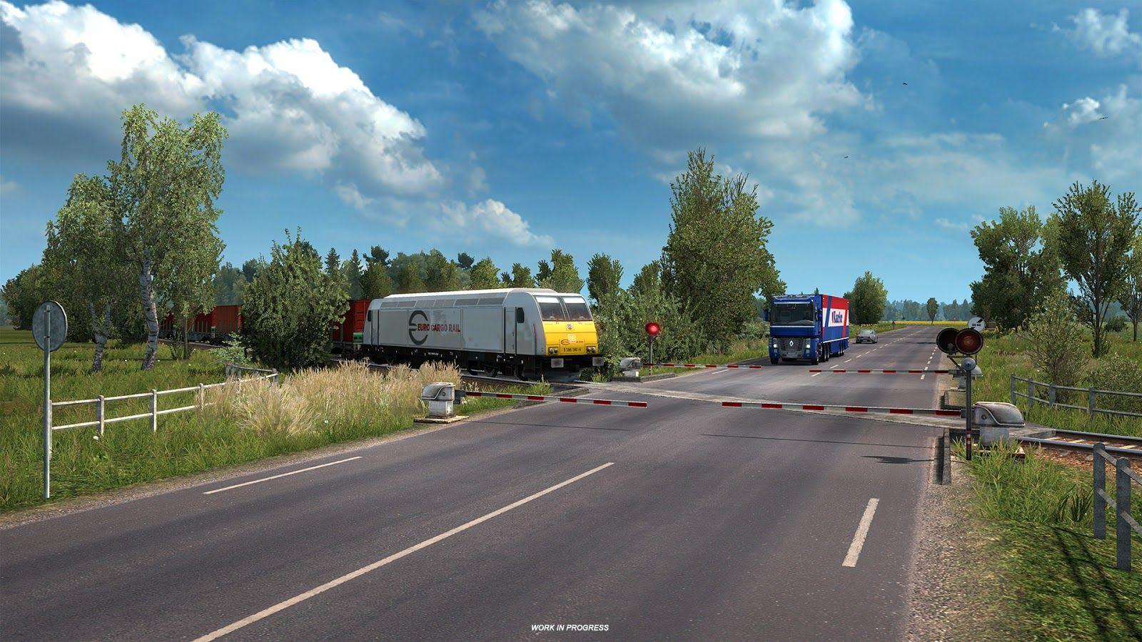 Новые дороги в обновлении 1.35 [ETS 2, ATS]
