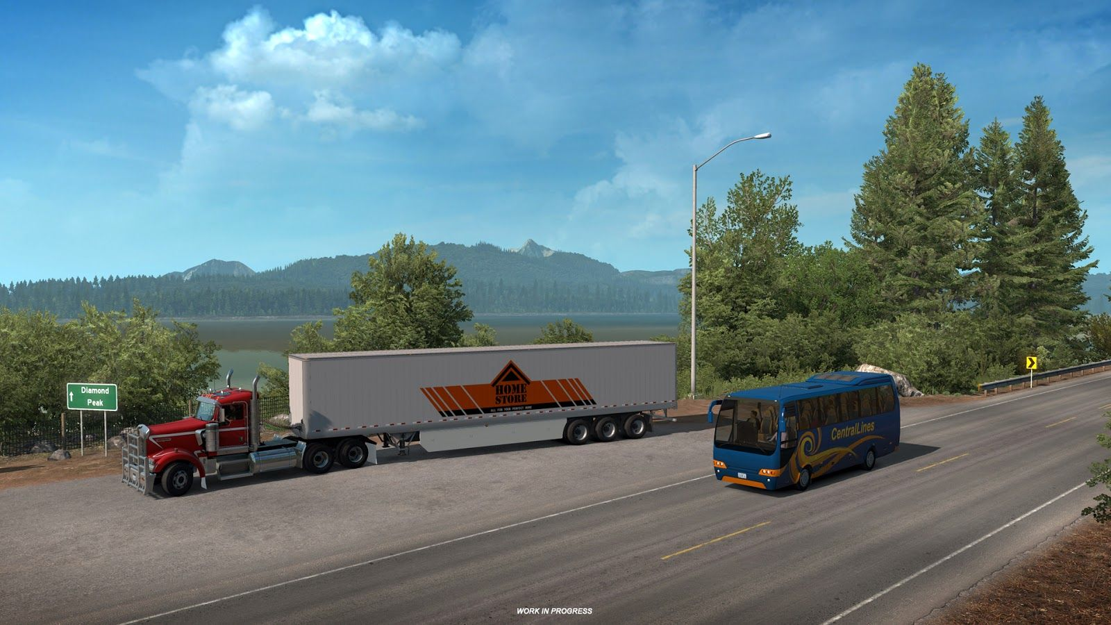 American Truck Simulator: обновление 1.35 (Открытый бета-тест)