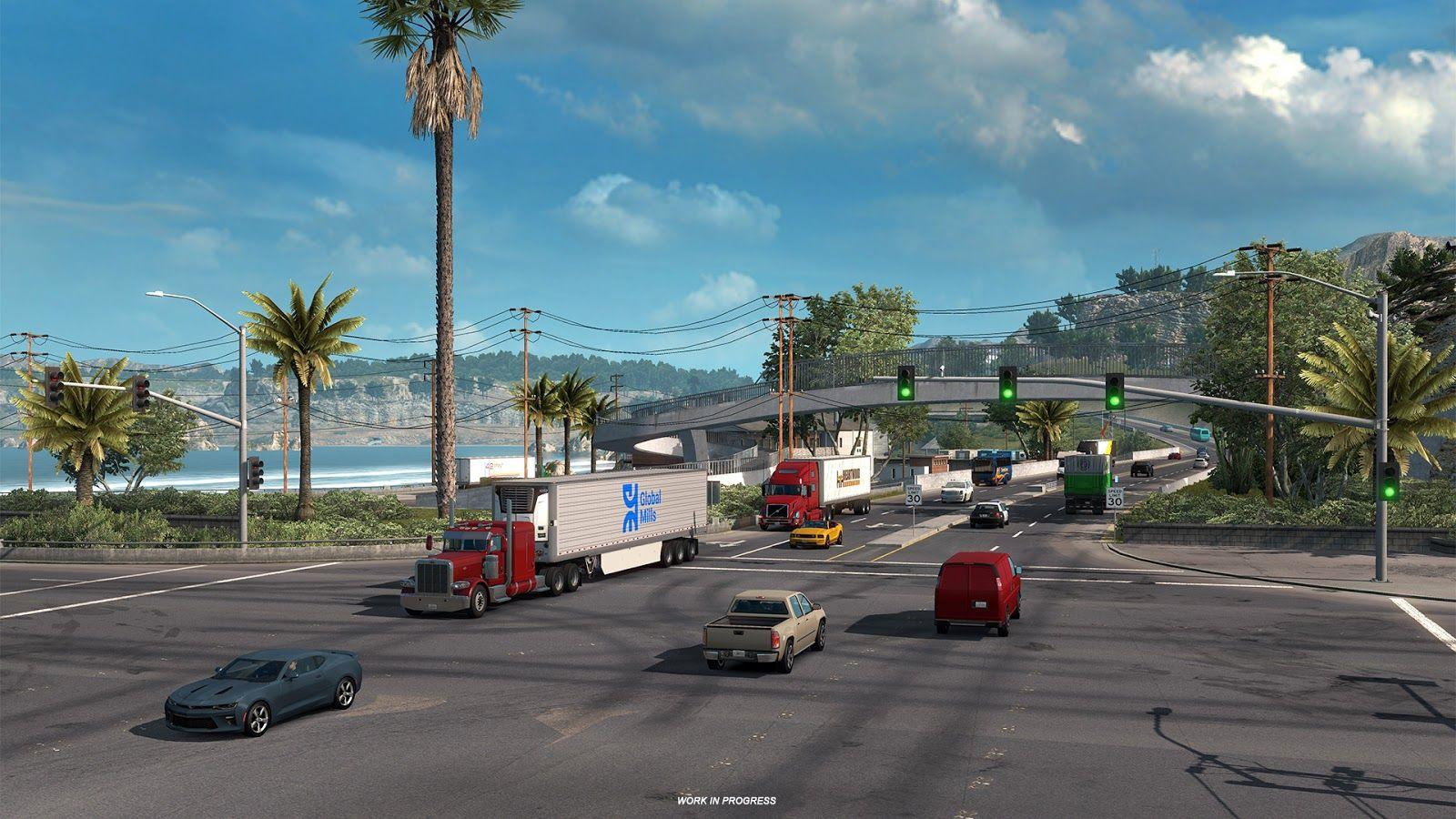 American Truck Simulator: Светофоры
