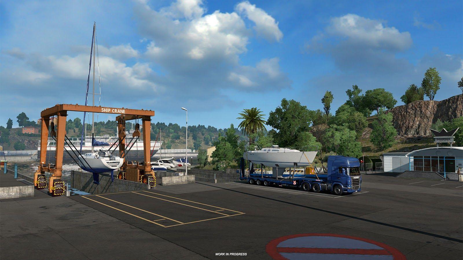 Euro Truck Simulator 2: обновление 1.35 (Открытый бета-тест)