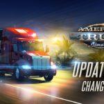 Вышло обновление American Truck Simulator 1.35