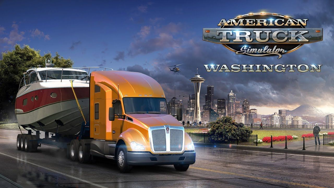 Объявлена дата выхода дополнения American Truck Simulator: Washington