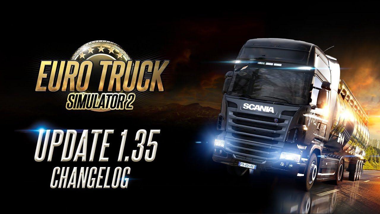 Вышло обновление Euro Truck Simulator 2 1.35