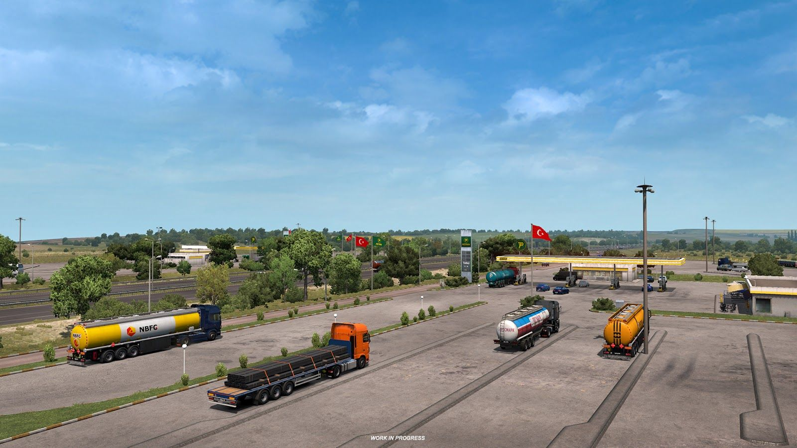 Euro Truck Simulator 2: Road to the Black Sea – Турция