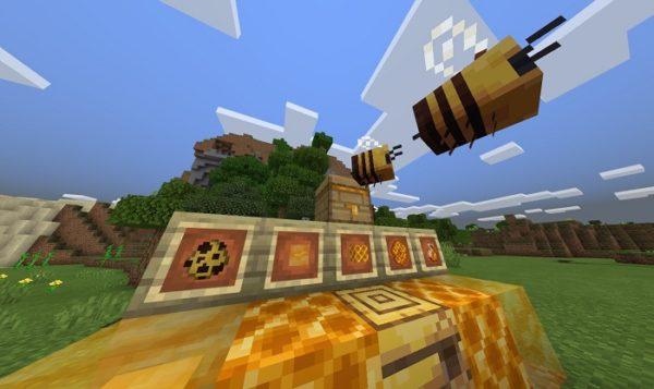 Скачать Майнкрафт с пчелами
