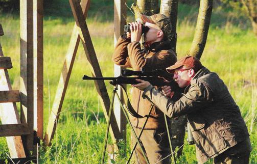 Широкий выбор качественных треног для охотничьих ружей