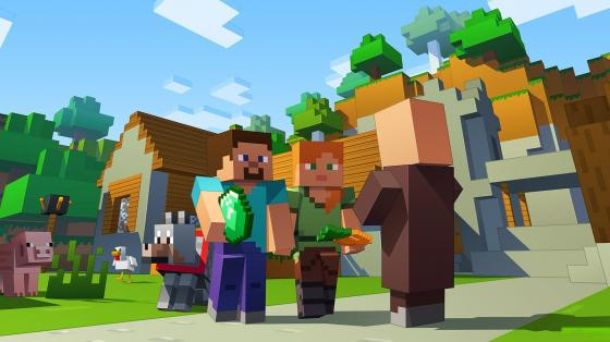 Популярнейшая игра Minecraft в режиме онлайн