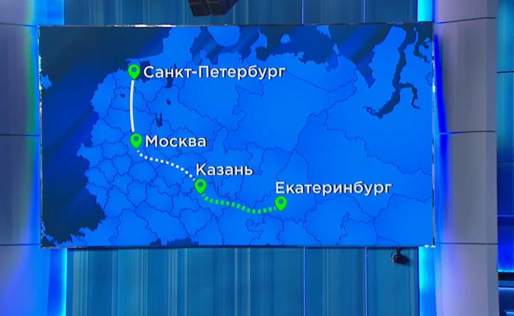 Узнать точное расстояние Москва Казань на машине по трассе