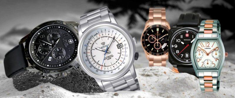 Большой выбор наручных часов