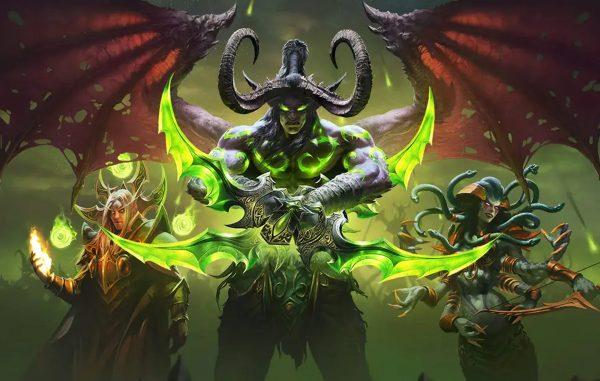 Регистрация личного кабинета World of Warcraft